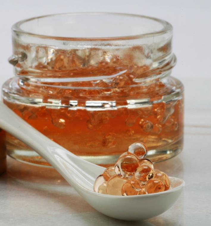 CS0634 Perle di Balsamico Bianco alla CILIEGIA 50 g - 3